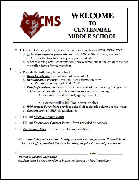 registration-checklist